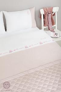 Комплект в кроватьLuxberry Sweet Life, простыня без резинки